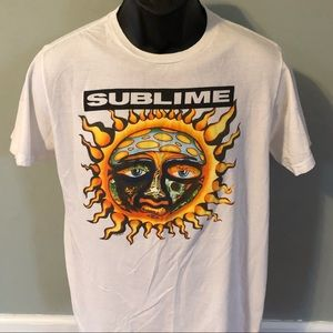 Sublime Vintage Shirt Concert Band Tour Logo